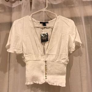 Forever 21 woven shirt/salvage size M